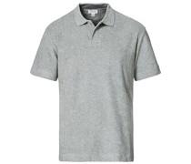 Organic Baumwoll Tuchling Polo Grey