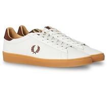 Spencer Tab Ledersneaker Porcelain/Tan