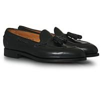Belgravia Tassel Loafer Black Calf