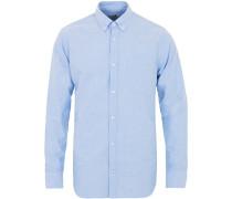 Levon Buttondown Oxfordhemd Light Blue