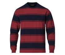 Longsleeve Pocket Tshirt Burgundy