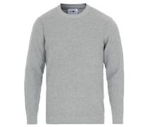 Julian Baumwoll Strickpullover Medium Grey