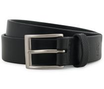 Ledergürtel 3cm Black