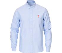 Heart Logo Oxfordhemd Light Blue