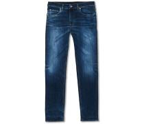 Leon Super Top Jeans Medium Blue