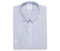 Regent Fit Non Iron Streifenhemd Dark Blue