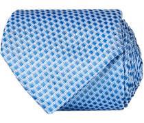Silk Micro Weave 8 cm Krawatte Light Blue