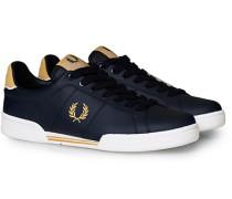B722 Ledersneaker Navy/Gold