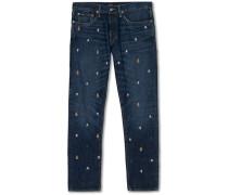 Sullivan 5-pocket Patchwork Jeans  Blue