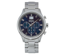 Chronograph 42mm Steel/Blue Dial