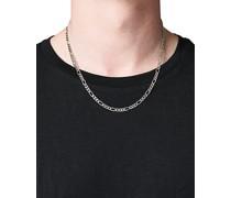Figaro Chain Halskette Silver