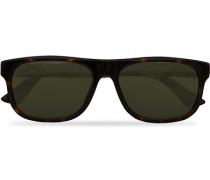 GG0770SA Sonnenbrille Havana/Green