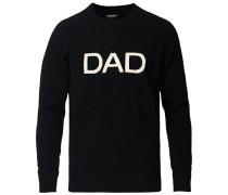 Cashmere Dad Sweatshirt Black