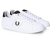 B721 Sneaker aus Leder White/Navy