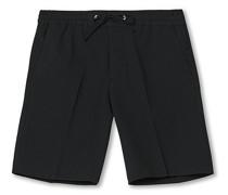 Sebastian Seersucker Drawstring Shorts Black