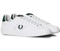 B721 Ledersneaker White/Ivy