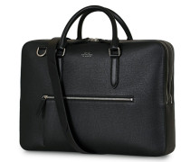 Ludlow Large Aktentasche with Zip Front Black