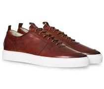 Sneaker 22 Tan Handpainted Calf