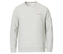 Vagn Logo Sweatshirt Light Grey Mel