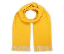 Solid Woll/Kaschmirschal Yellow