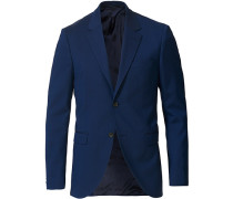 Jamonte Woll Anzug Blazer Blue