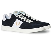 B400 Suede Sneaker Navy/Gold