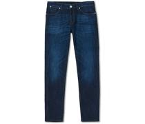 Slim Fit Stretch Jeans Washed Indigo