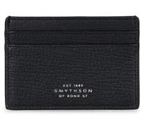 Large Grain Flat Kreditkartenhalter Black