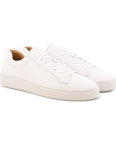 Salas Ledersneaker White