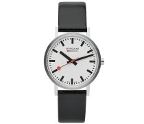 New Classic Brushed Black 36mm