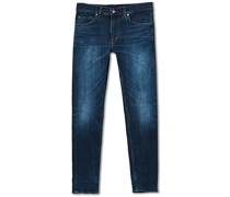 Evolve Top Superstretch Jeans Mid Blue