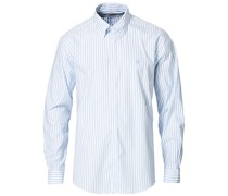 Regent Fit Non Iron Oxfordhemd Blue Stripe