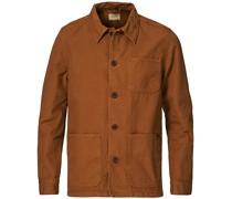 Barney Canvas Überhemd Cinnamon