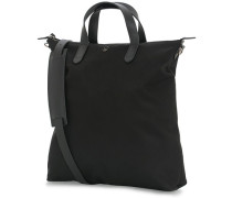 M/S Nylon Shopper Black