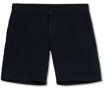 Chinohose Shorts Navy