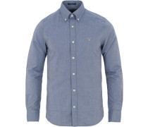 Slim Fit Oxfordhemd Persian Blue