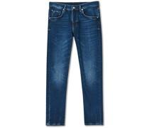 Jac Strike Strech Jeans Mid Blue