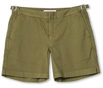 Bulldog Baumwoll Twill Shorts Laurel