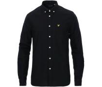 Lightweight Oxfordhemd Jet Black