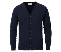 Petworth Merino Cardigan Midnight
