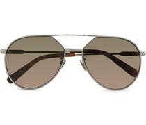 BR0066S Sonnenbrille Ruthenium/Green