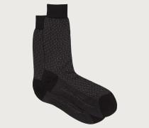 Gancini Socken in Jacquard