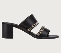 Sandale mit doppeltem Riemen