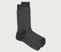 Mittellange Socken mit vollem Gancini Muster
