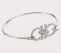 Gancini-Armreifen mit Kristallen