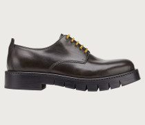 Derby Schuh mit Chunky Sohle