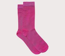 Socken mit Ferragamo Namenszug
