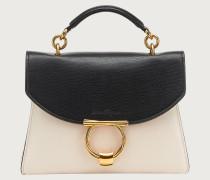 Gancini top handle bag small
