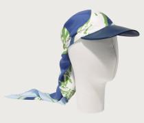 Mütze mit Seideneinsatz