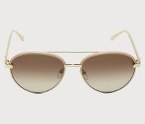 Sonnenbrillen Beige